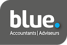 Blue. Accountants | Adviseurs Logo