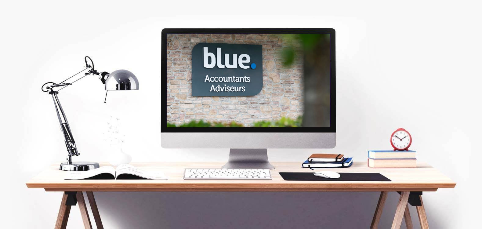 blue accountants adviseurs computer