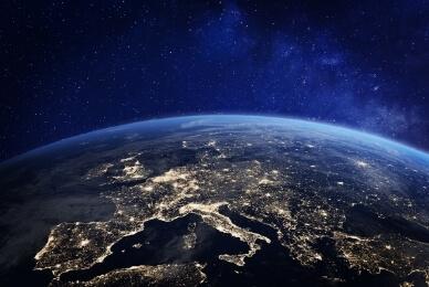 europa nachtfoto